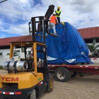 descarga de turbinas en mazamari -satipo -junin – hidroeléctrica chalhuamayo