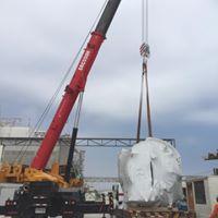 descarga de caldero 20 toneladas – compañía minera luren